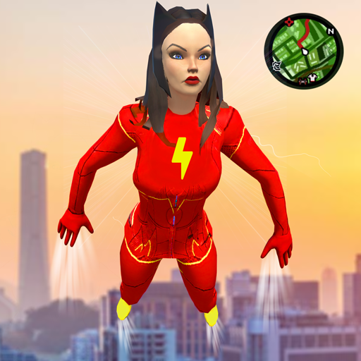 Baixar Lightning Rope Ultimate Speed hero Santa Girl 2020 para Android