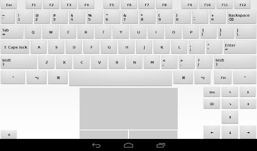 Foto do Air Keyboard