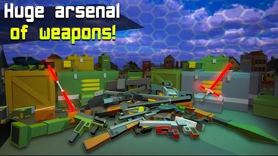 Pixel Fury: Multiplayer in 3D Mod Apk (God Mode + One Shot Kill) 2