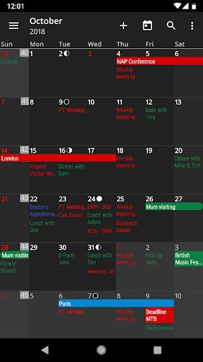 Download APK: aCalendar+ Calendar & Tasks v2.5.3 [Final] [Paid]