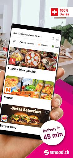 Smood u2013 Swiss Food Delivery 5.0.11 Screenshots 2