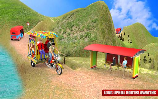 Tuk Tuk City Driving 3D Simulator 1.15 screenshots 6