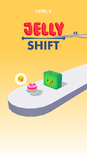 Jelly Shift - Obstacle Course Game Screenshot