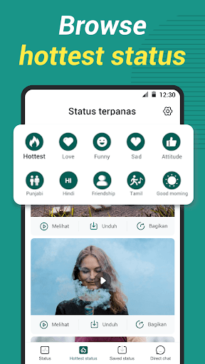 WAStatus - Status Saver for whatsapp status android2mod screenshots 6