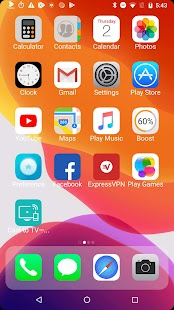 iLauncher X - new iOS theme for iphone launcher Screenshot