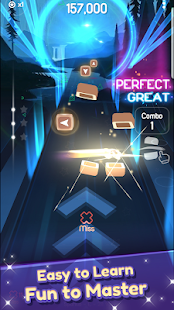 Dancing Blade: Slicing EDM Rhythm Game 1.2.5 Screenshots 22