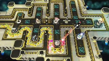 Sci Fi Tower Defense Offline Game. Module TD