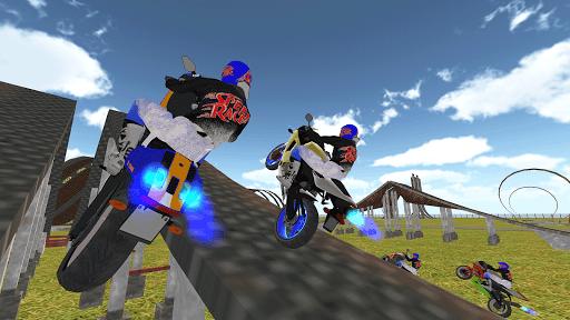 Bike Rider VS Cop Car - Police Chase & Escape Game Apkfinish screenshots 8