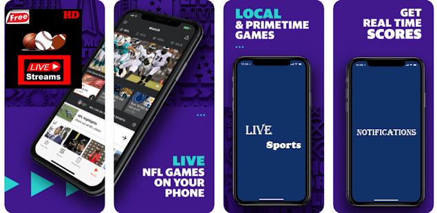 Live Streams of NFL, NBA, MLB, NHL, NCAAF