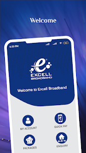 Excell Broadband Screenshot