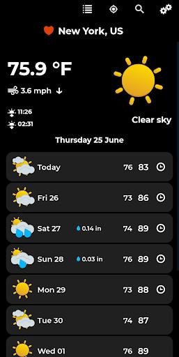 Weather Forecast 2.0.3 Screenshots 2