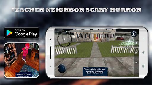 Scary Neighbor Teacher Scientist apkpoly screenshots 3