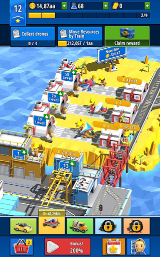 Idle Inventor - Factory Tycoon screenshots 12
