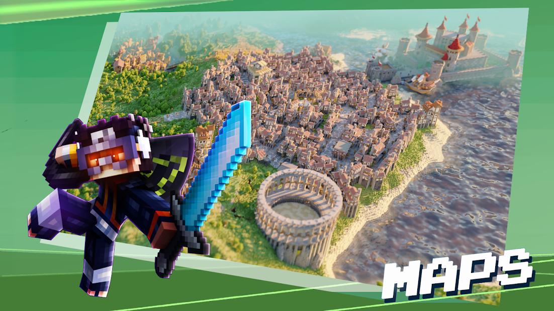 Maps for Minecraft PE - Master Mods screenshot 2