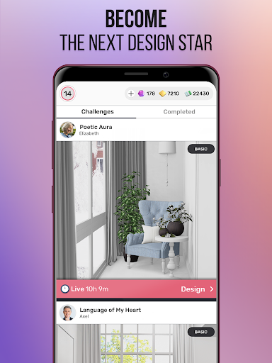 Design Star : Home Makeover apkmr screenshots 10