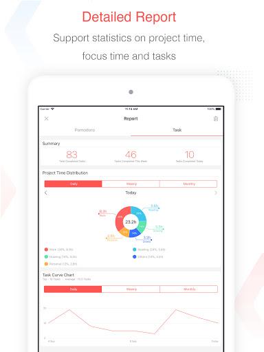 Focus To-Do: Pomodoro Timer & To Do List  Screenshots 10