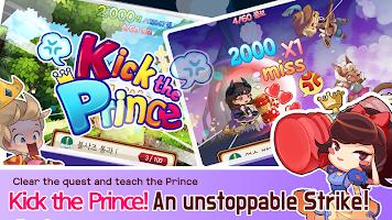 Kick the Prince: Princess Rush
