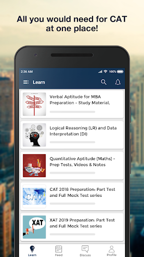 cat mba exam preparation: mock test, solved papers screenshot 1