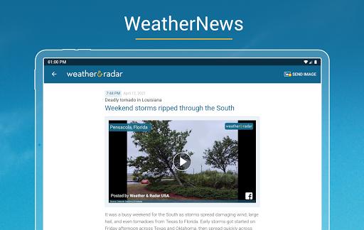 Weather & Radar USA - Storm alerts  Screenshots 18