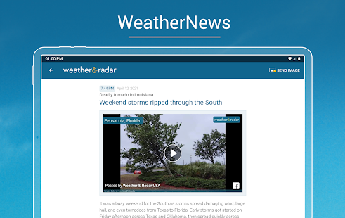 Weather & Radar USA - Storm alerts Screenshot