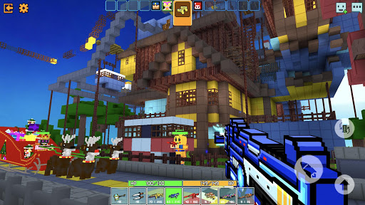Cops N Robbers - 3D Pixel Craft Gun Shooting Games goodtube screenshots 2