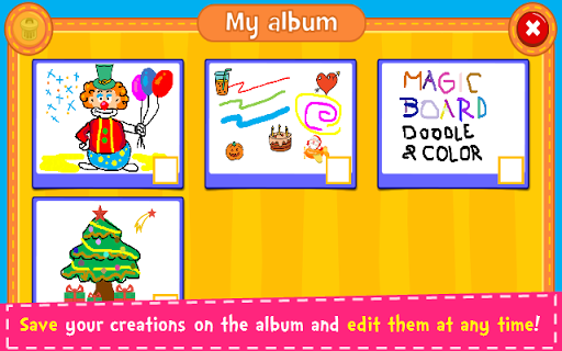 Magic Board - Doodle & Color 1.36 Screenshots 5