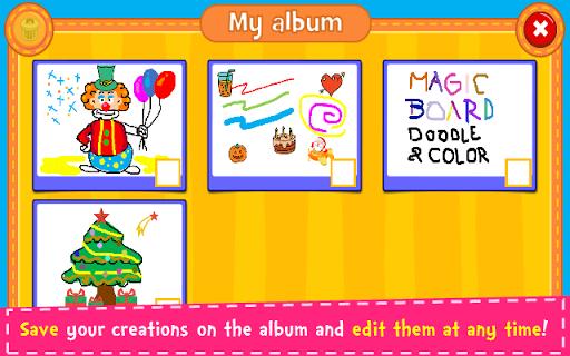 Magic Board - Doodle & Color 1.36 screenshots 5