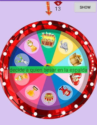 Ruleta de Besos(reto de besos) screenshots 2
