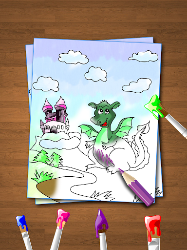 Coloring Book for Kids: Animal apkmr screenshots 1