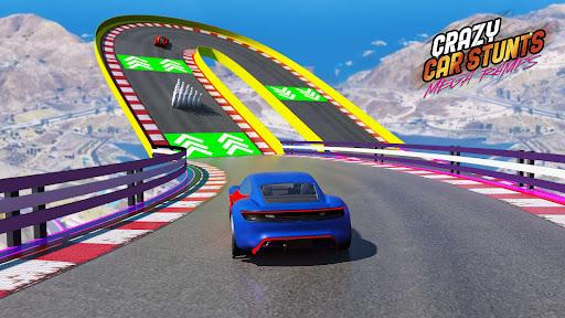 Crazy Car Stunts - Mega Ramp androidhappy screenshots 1