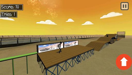 stickman extreme skateboard screenshot 3