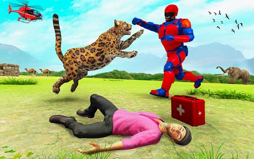Superhero Police Speed Hero:Rescue Mission screenshots 8