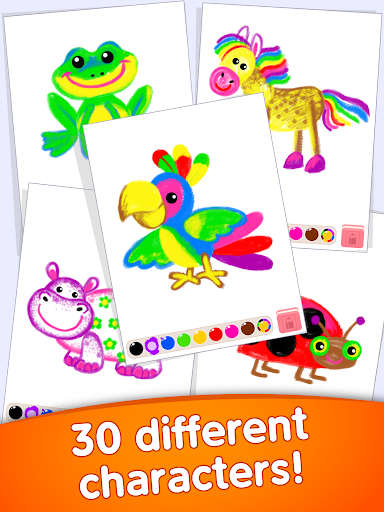 Toddler coloring apps for kids! Drawing games! screenshots 21