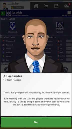 Club Soccer Director 2021 - Soccer Club Manager  screenshots 4