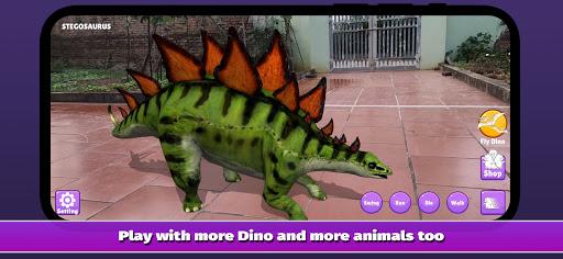Dinosaur 3D AR - Augmented Reality  screenshots 1