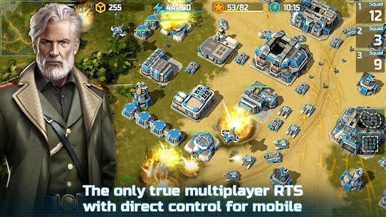 Art of War 3: PvP RTS modern warfare strategy game 1.0.87 Apk + Mod 3