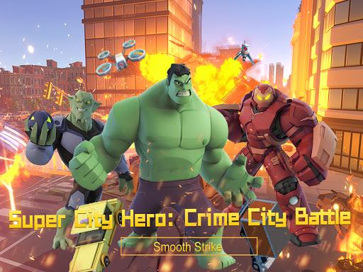 Super City Herouff1aCrime City Battle android2mod screenshots 9