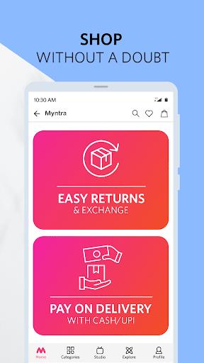 Myntra Online Shopping App - Shop Fashion & more apktram screenshots 8