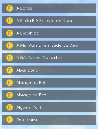 Mu00fasicas Catu00f3licas Letras screenshots 2