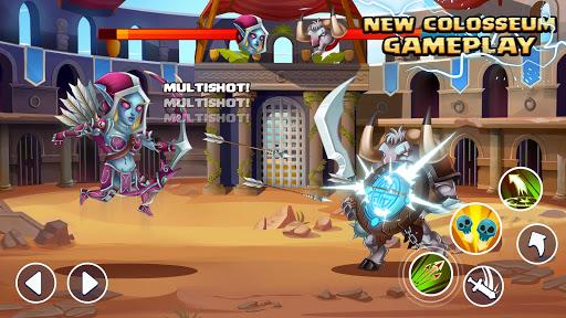 Tiny Gladiators 2: Heroes Duels - RPG Battle Arena apkdebit screenshots 3