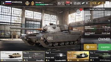 Tank Warfare: PvP Blitz Game