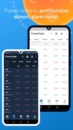 FinansCepte Du00f6viz & Altu0131n Kurlaru0131 - Borsa BitCoin 5.6.7 Screenshots 2