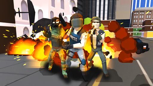 Guns Battle Royale: Free Shooting Game- Pixel FPS  screenshots 1