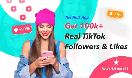 TikFame - Get TikTok followers & Tik like & fans 1.0.13 Screenshots 1