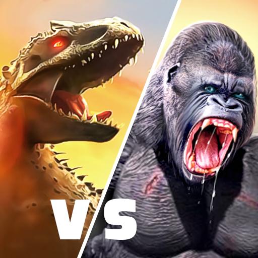 Baixar Angry Monster Gorilla - King Fighting Kong Games para Android