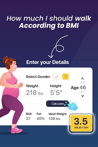 Walking for weight loss app  screenshots 2
