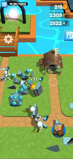 Buildy Island 3d: Hire&Craft Casual Adventure Apkfinish screenshots 1