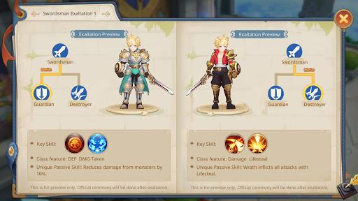 Guardians of Cloudia Apkfinish screenshots 12