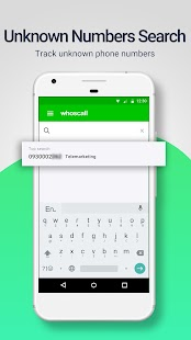 Whoscall – The caller ID and block App Screenshot