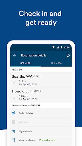 Alaska Airlines - Travel screenshots 4